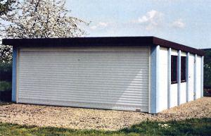 Super Garage und Carport - Betonfertiggarage AI13