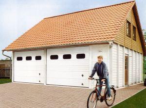 Doppelgarage pultdach  Garage und Carport - Betonfertiggarage